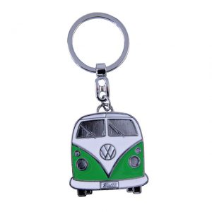 Key Rings with the design of the VW T1 Bus - green - Gadgets - Sew on badge, Key rings, gifts - Key-ring  - Generic