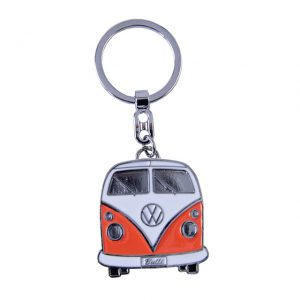 Key Rings with the design of the VW T1 Bus - orange - Gadgets - Sew on badge, Key rings, gifts - Key-ring  - Generic
