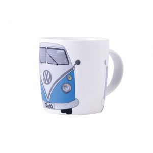Coffee Mugs made out of New Bone China with blue T1 Bus 400ml - Exterior - Accessories - Camping equipment  - Generic