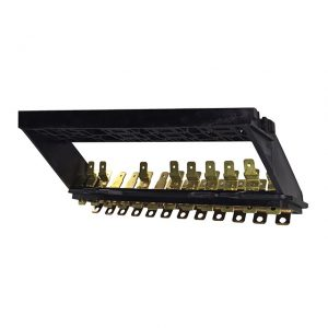 Fuse/relais box for 12 fuses - Electrical section - Switches and apparatuses - Fuse boxes and fuses  - Generic