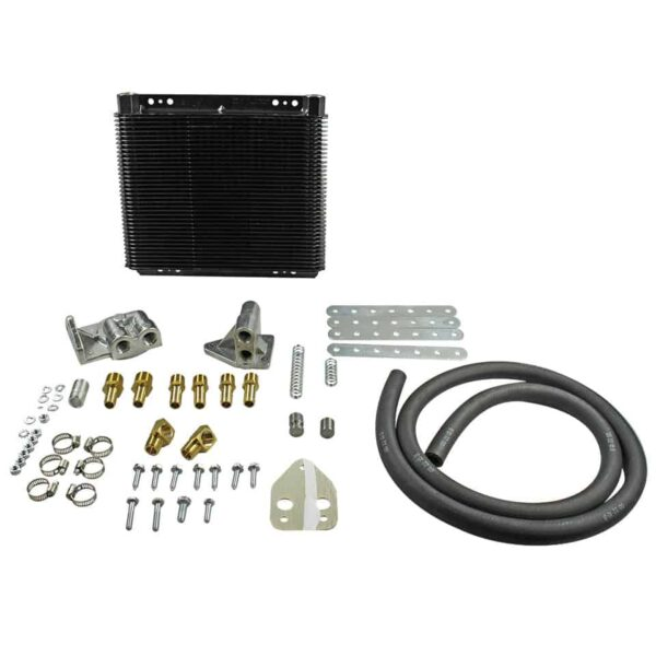 Oil cooler kit with 72 plates26 x 28 cm - Engine - Oil circuit - Supplementary oil cooler  - Bugpack