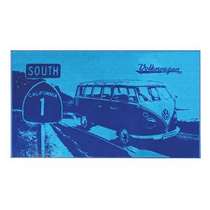 Beach towel T1 'South California' Bus blue - Exterior - Accessories - Camping equipment  - Generic