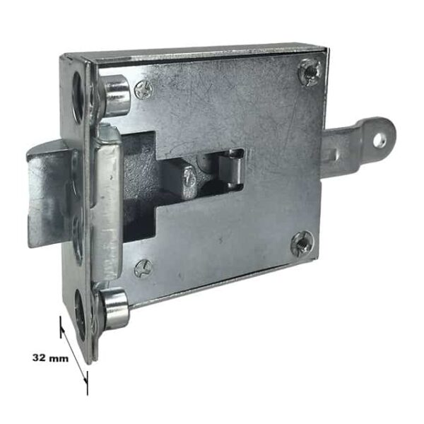 Cab door lock mechanism left - Exterior - Mirrors and latches - Latches and locks  - Generic