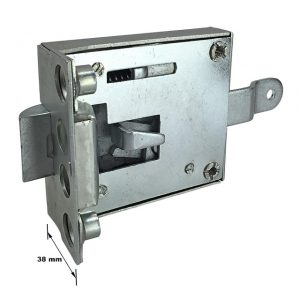 Cab door lock mechanism right - Exterior - Mirrors and latches - Latches and locks  - Generic