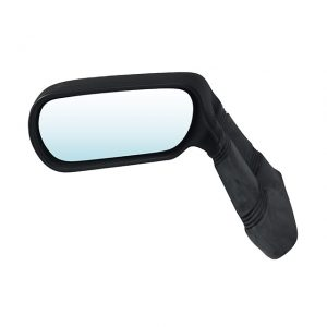 Sport mirror 'Turbo'Black synthetic material, left - Exterior - Mirrors and latches - Rear view mirrors  - Generic