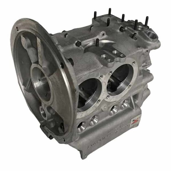 Case with cylinder opening for 94 mm bore and CNC adapted for a long stroke crankshaft till 82 mm (small adaptations could be necessary) - Engine - Lower block - New engine cases  - Generic