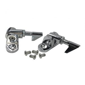 Convertible top hold down latches, as pair - Exterior - Convertible tops - Top latch convertible  - Generic