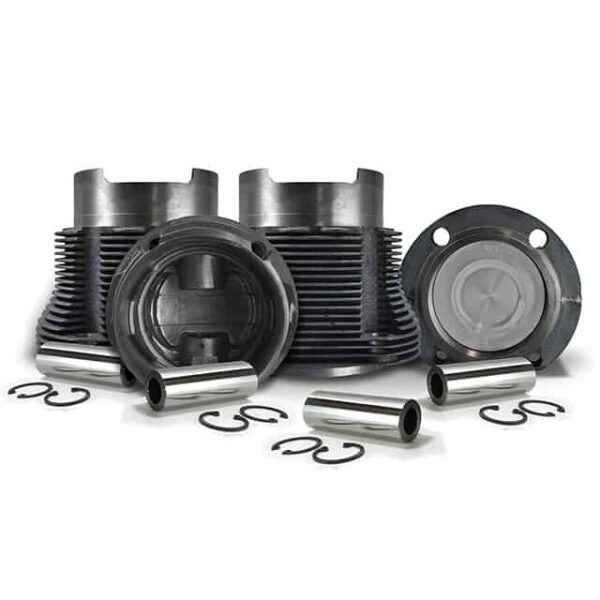 Piston and cylinder kit - T4 2000 cc -  94,00 mm- Mahle Brazil - Engine - Lower block - Cilinder/ piston kit Type 4  - Generic