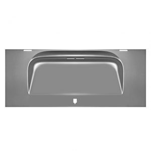Engine lid - Exterior - Body parts - Hoods and hatches  - Silver Weld Through