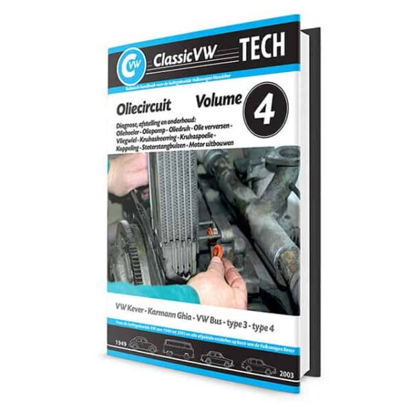 ClassicVW Tech 4Oil system, cooling for Bug, Ghia, Bus, Type 3, Type 4Dutch - Manuals - Books - Workshop manuals, Dutch  - Generic