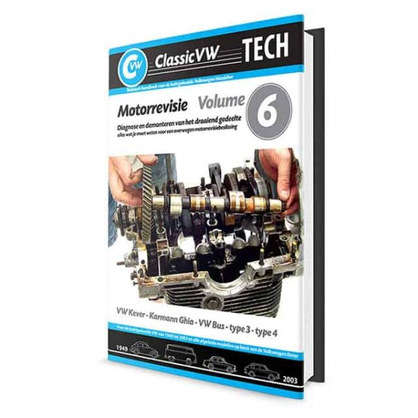 ClassicVW Tech 6Dismantling and diagnose from lower engine part for Bug, Ghia, Bus, Type 3 and Type 4Dutch - Manuals - Books - Workshop manuals, Dutch  - Generic