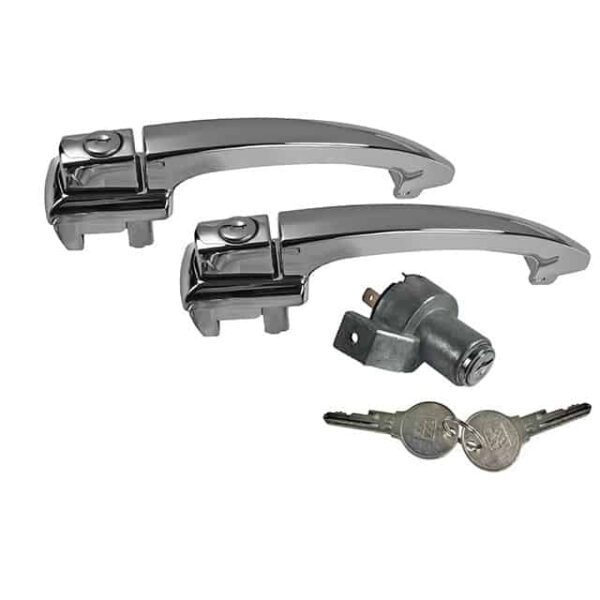Lock set Beetle - Exterior - Mirrors and latches - Latches and locks  - Generic