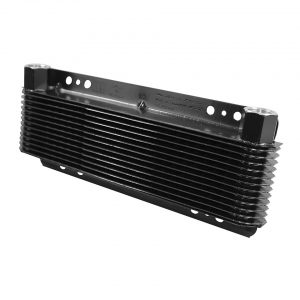 Oil cooler 24 plates11 x 28 cm - Engine - Oil circuit - Supplementary oil cooler  - Generic