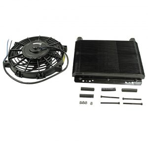 Oil cooler 72 plates26 x 28 cmwith ventilator - Engine - Oil circuit - Supplementary oil cooler  - Bugpack