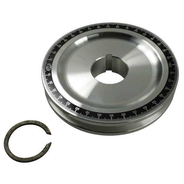 Pulley with degree, without holes - Engine - Lower block - Original crankshafts and parts (XView 5-01)  - Generic