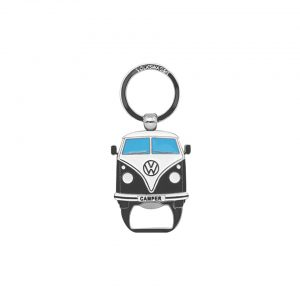 Key ring with bottle opener the design of the VW T1 Bus - Grey - Gadgets - Sew on badge, Key rings, gifts - Key-ring  - Generic