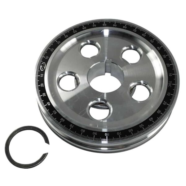 Sandseal power pulley, small, with seal - Engine - Lower block - Original crankshafts and parts (XView 5-01)  - Generic