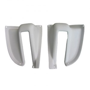 Tailgate hinge covers - pair - Interior - Headliner clothing and sunvisors - Accessories for headlining  - Generic