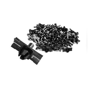 Clips for moulding kit Karmann Ghia, 52 pieces - Exterior - Accessories - Chrome moulding kits and mounting pieces  - Generic