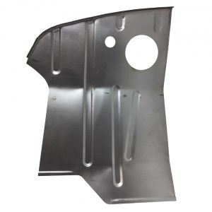 Cabine floor pan, left - Exterior - Body parts - Bodywork Baywindow 67- (XView 1-08)  - Generic