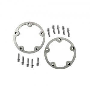 5-lugs wheel spacers1 inch (25,4 mm) wide, as pairComplete with 38mm bolts, Ø 12 mm. For steel wheels. - Exterior - Wheel rims and accessories - Wheel spacers  - Generic