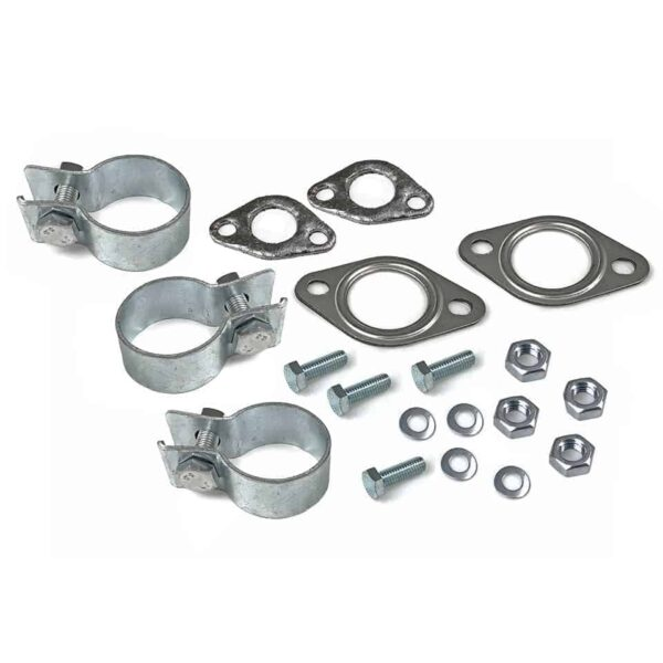Exhaust assembly kit 25-30HP / Single tip - Engine - Exhaust and accessories - Gasket and accessories for exhaust  - Generic