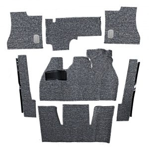Carpet kit, Beetle, grey - Interior - Upholstery and accessories - Carpet kit  - Generic