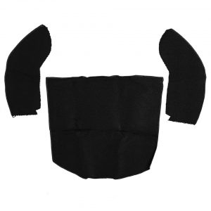 Rear trunk covering, Beetle convertible, black - Interior - Trunk clothing - Trunk covering  - Generic