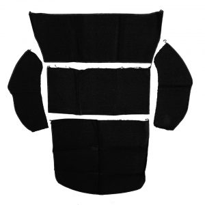 Rear trunk covering, Beetle, black - Interior - Trunk clothing - Trunk covering  - Generic