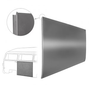 Centre sidepanel left 80cm - Exterior - Body parts - Bodywork Baywindow 67- (XView 1-08)  - Generic
