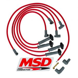 Ignition cables for MSDcomplete set - Engine - Ignition - MSD ignition  - Generic
