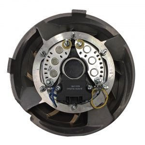 Porsche cooling fan 260 mm - Engine - Pulley and loading circuit - Porsche cooling fan  - Generic