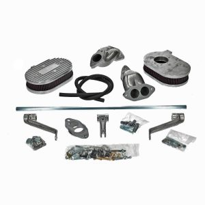 Manifold kit and linkage for ICT carburettors, Type 3 dual port - Engine - Fuel and intake - ICT carburettors  - Generic