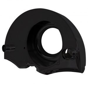 Fan shroud black with ducts - Engine - Engine cooling tin - Fan shrouds  - Generic