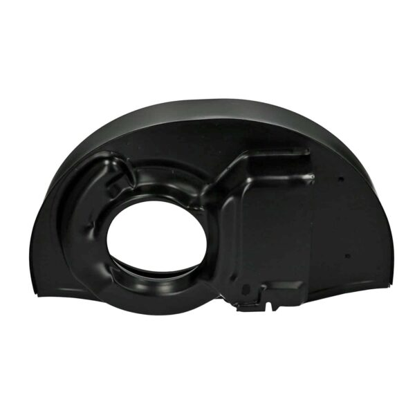 Black fan shroud with doghouse - Engine - Engine cooling tin - Fan shrouds  - Generic