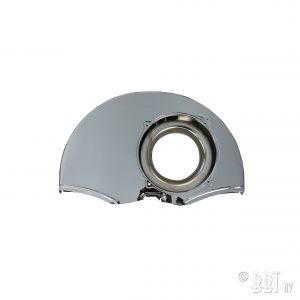 Chrome fan shroud with doghouse - Engine - Engine cooling tin - Fan shrouds  - Generic