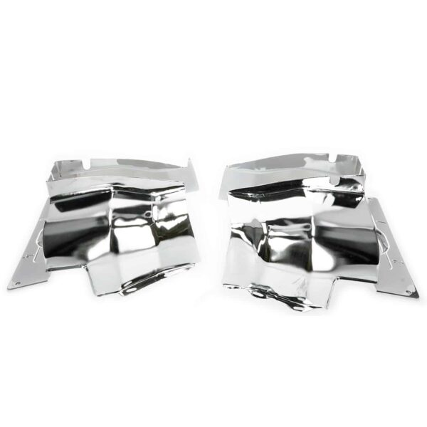 Cylinder cover, single port, chrome - Engine - Engine cooling tin - Cylinder covers  - Generic