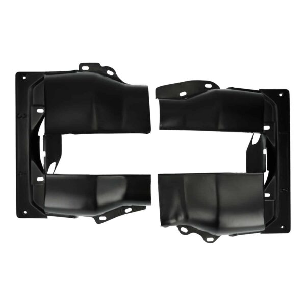 Cylinder cover, dual port, black - Engine - Engine cooling tin - Cylinder covers  - Generic