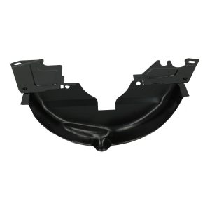 Black pulley cover, small - Engine - Engine cooling tin - Pulley cover - small type  - Generic