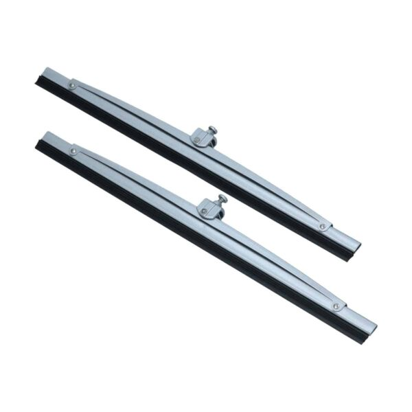 Wiperblades silver 300mm (pair) - Exterior - Windscreen wipers - Wipers  - Generic