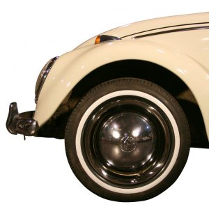 White wall ring (small) 16 inch, 4 pieces - Exterior - Wheel rims and accessories - Tyre walls  - Generic