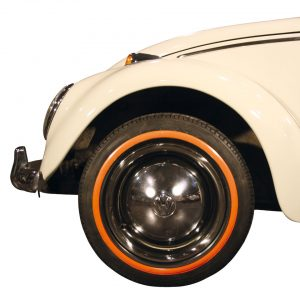 Orange wall ring (small) 14 inch, 4 pieces - Exterior - Wheel rims and accessories - Tyre walls  - Generic