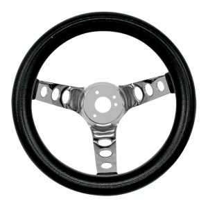 Steering wheel 3 spokes12 inch - Interior - Shifters and steering wheels - American sport steering wheels  - Bugpack