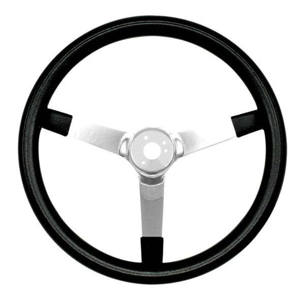 Steering wheel 3 spokes14.5 inch - Interior - Shifters and steering wheels - American sport steering wheels  - Bugpack