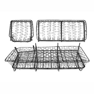 Middle seat frame bottom and back - Interior - Seats and accessories - Seat padding  - Silver Weld Through
