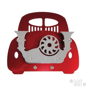 Business card holder Type 1, red, Vintage Speed - Gadgets - Sew on badge, Key rings, gifts - Business card holder  - Vintage Speed