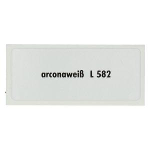 Sticker L 582, Arcona white - Stickers - Stickers - Stickers  - Generic