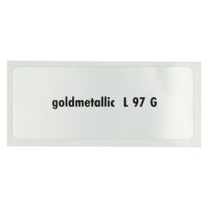 Sticker L 97 G, Gold metallic - Stickers - Stickers - Stickers  - Generic