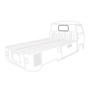 Rear window seal, Pick up, each - Exterior - Body part rubbers - Body part rubbers  BusBus & Pick-up (XView 1-10)  - Generic