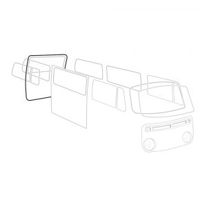 Rear cargo door seal - German - Exterior - Body part rubbers - Body part rubbers  BusBus & Pick-up (XView 1-10)  - Generic